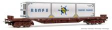 """Electrotren HE6006 """"RENFE, 4-achs. Flachwagen Rs, mit Kält"""