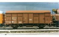 Electrotren HE6020 RENFE gedeck. Güterwg. m. Schlussb. Ep.4