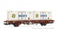Electrotren HE6031 RENFE Containertragwagen 2-achs Ep.4
