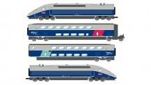 Jouef HJ2362 SNCF Triebzug TGV Euroduplex 4-tlg Ep.6