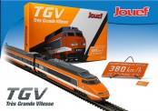 Jouef HJ2412 SNCF TGV Record Mondial 4-tlg Ep.4
