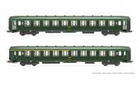 Jouef HJ4147 SNCF Personenwagen-Set Inox 2-tlg Ep.4