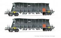 Jouef HJ6210 SNCF EDF Schüttgutwagen-Set 2-tlg Ep.6