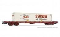 Jouef HJ6213 SNCF Containertragwagen 4-achs Ep.5