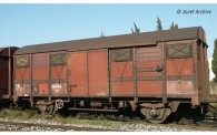 Jouef HJ6217 SNCF gedeckt. Güterwg. m. Schlussl. Ep.4