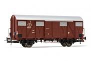 Rivarossi HR6509 FS gedeckter Güterwg. m. Schlussl. Ep.3