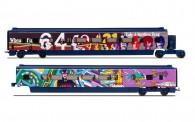 Hornby R40001 Eurostar The Beatles Ergänzung 2-tlg Ep6