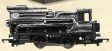 Bassett-Lowke BL2001 Leander - Steampunk Steam Locomotive