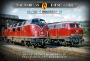 Rio Grande 5104 Nachkriegs-Dieselloks - DB 4er-DVD-Box