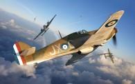 Airfix 01010A Hawker Hurricane MK1