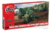 Airfix 01309 Bren Gun Carrier and 6pdr Anti-Tank Gun