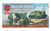 Airfix 01309V Bren Gun Carrier & 6pdr Anti-Tank Gun