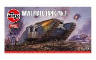 Airfix 01315V Male Tank Mk.I - Vintage Classics