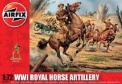 Airfix 01731 WWI Royal Horse Artillery