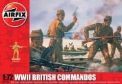 Airfix 01732 Britische Kommandotruppen