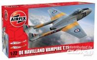 Airfix 02058 De Havilland Vampire T.11