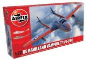 Airfix 02058A deHavilland Vampire T.11 / J-28C