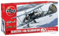Airfix 02063 Gloster Gladiator J-8A/Gladiator Mk.II