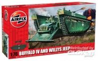 Airfix 02302 Buffalo Amphibian & Jeep