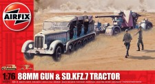 Airfix 02303 88mm Gun and Sd.Kfz.7 Tractor