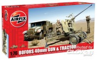 Airfix 02314 Bofors 40mm Gun and Tractor