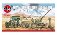 Airfix 02314V Bofors 40mm Gun&Tractor Vintage Classic