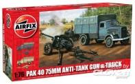 Airfix 02315 Opel Blitz & PAK 40 Gun
