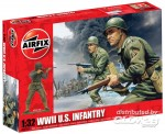 Airfix 02703 WWII US Infantry
