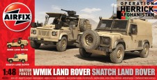 Airfix 06301 British Forces Land Rover Twin