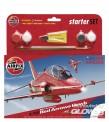 Airfix 55202 Set: Red Arrows Hawk 50th Season