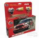 Airfix 55304 Mini Countryman WRC Starter Set