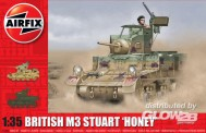 Airfix A1358 M3 Stuart 'Honey' (British Version)