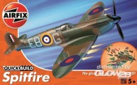 Airfix J6000 Spitfire - Quick-Build