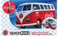 Airfix J6047 VW Camper Van Coca-Cola / Quick-Build