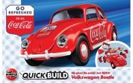 Airfix J6048 VW Beetle Coca-Cola / Quick-Build