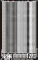 Makette 2502 Nietenbänder aus geätztem Messing