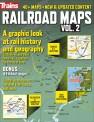 Kalmbach 20001 Railroad Maps Vol. 2