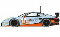 Scalextric 03732 Porsche 911 Gulf #86 ELMS Series