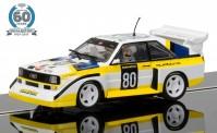 Scalextric 03828A Audi Quattro #80 - 60 J. Collec. No.4