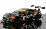 Scalextric 03856 Aston Martin GT3 #7 2013 Clipsal