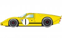 Scalextric 03859 Ford GT40 Mk4 1967 Sebring Win.