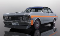 Scalextric 04037 Ford XW Falcon Silver Fox HD