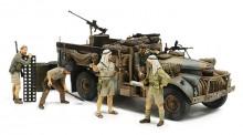 Tamiya 32407 Brit. LRDG Befehlswagen mit 7 Figuren