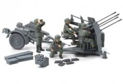 Tamiya 32554 Dt. 20mm Flakvierling 38 (4)