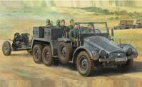 Tamiya 32580 WWII Dt. Sd.Kfz.67 (6) mit 3,7cm PAK