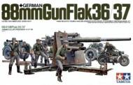 Tamiya 35017 Dt.Flak 8,8cm 36/37 mit Zündapp KS750