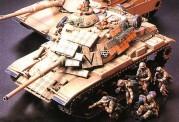 Tamiya 35156 US Abrams M1A1 120mm