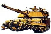 Tamiya 35158 US M1A1 Abrams Minensucher