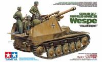 Tamiya 35358 Panzerhaubitz Wespe Italien. Front