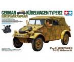 Tamiya 36205 Kübelwagen Type 82 Europa Feldzug